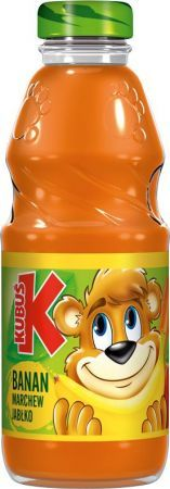 KUBUŚ BANAN MARCHEW JABŁKO 300ml